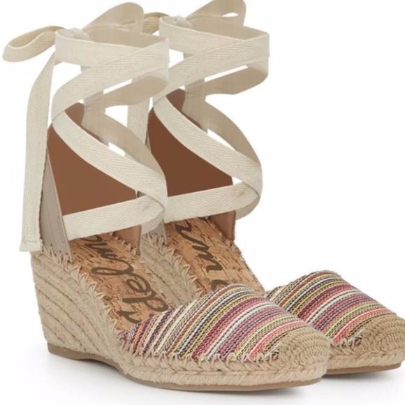 3da9e934a New Sam Edelman Patsy Espadrilles Wedges Sandals